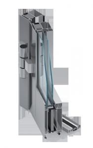 plastové dveře Dveřní systém MB-70